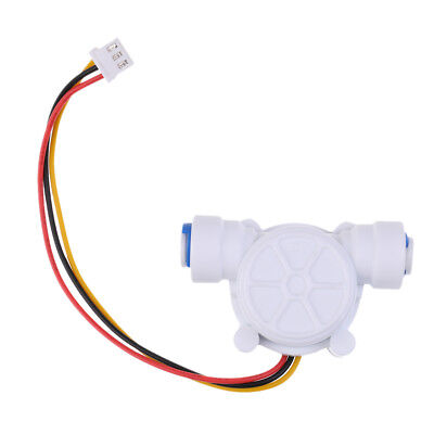 "G1/4"" Water Flow Hall Sensor Switch PE Pipe Flow meter Counter"