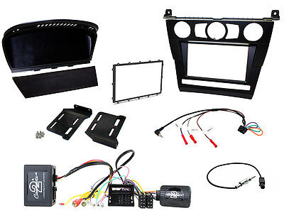 To Fit CTKBM25 BMW 5 Series E60 03-07 Complete Double Din Stereo Fitting Kit