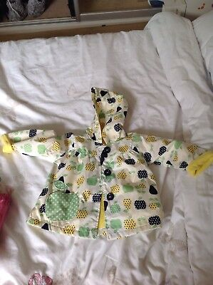6-9 months Boys Girls Rain coat