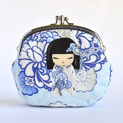 Hand crafted Japanese Kimmidoll coin purse collectable #0046