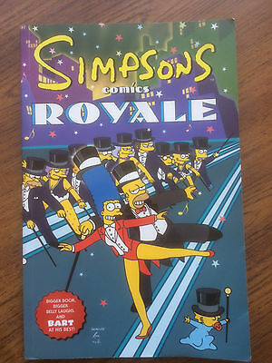 Simpsons comics book. Royale. 2001