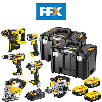 DeWalt DCK699M3T 18v XR Cordless Li-ion 6 Piece Power Tool Kit 3x4.0ah Batteries