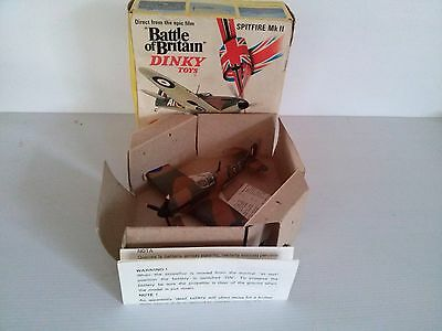 Dinky 719  Spitfire Mk 2 Aircraft. Mint with box. Like new.