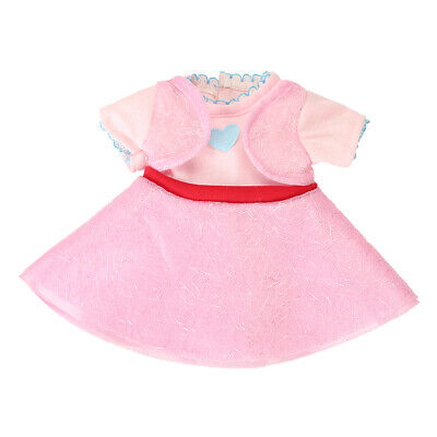 """Lovely Dress for 18"""" American Girl Our Generation My Life Dolls Clothes Pink"""