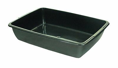 39693K 396937 - BLACK Whitefurze 40cm Cat Litter Tray P0301 [0805]