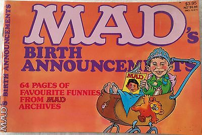 "COLLECTABLE -  COMIC ""MAD"" C.1980's"