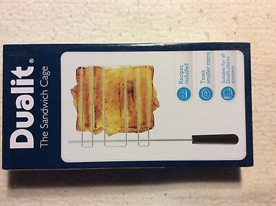 Dualit 00499 Toasters Sandwich Cage New