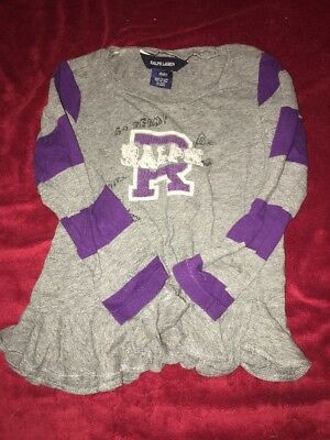 Girls Size 4t Ralph Lauren Shirt