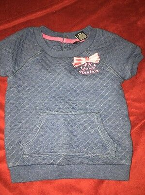 Girls Size 18 Months Nautica Shirt Blue