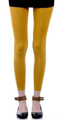 Chrome  Yellow  Footless  Tights