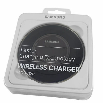NEW OEM Samsung Wireless Charger Pad Compact Portable for Galaxy S6 S7 S8 S9