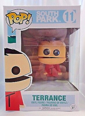 TERRANCE 11 South Park Funko POP vinyl figure Brand New In Package HARD TO FIND