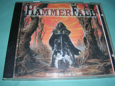 HammerFall ‎– Glory To The Brave ULTRA RARE COLLECTOR'S CD! FREE SHIPPING!