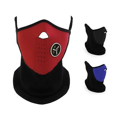 Neoprene Face Mask Neck Warm Motorcycle Bike Skiing Snowboarding Quad Paintball