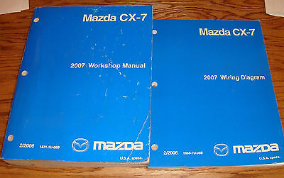 2007 mazda cx 9 service highlights workshop repair shop manual 07  at 2007 Mazda Cx 7 Wiring Diagram Manual Pdf