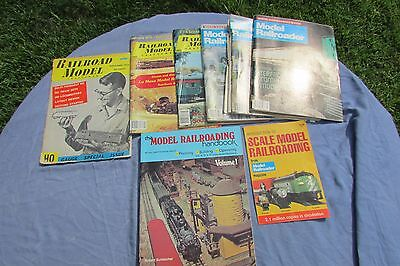 Lot of 8 Mags and Books The Model Railroad Handbook Volume 1