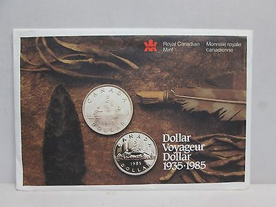1985 Canadian Uncirculated Coin Set