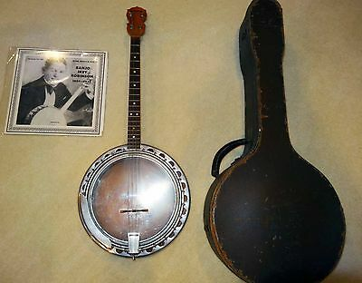 Awesome Banjo Ikey Robinson Owned And Played Bellstar Banjo