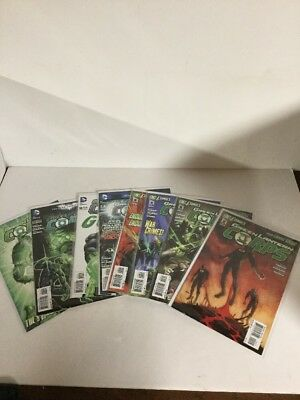 Green Lantern Corps 2 3 4 5 7 10 11 12 Lot Set Run Nm Near Mint DC Comics