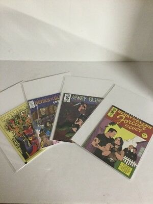 Henry And Glenn Forever And Ever 1-4 Lot Set Run Nm Near Mint