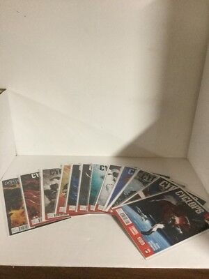 Cyclops 1-12 Lot Set Run Nm Near Mint Marvel Comics X-Men Starjammers