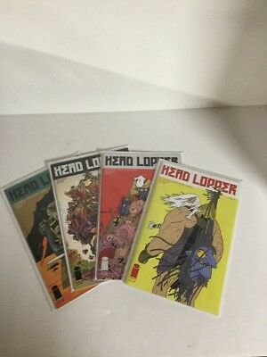 Head Lopper 1 2 3 4 Lot Set Run Nm Near Mint Image Comics