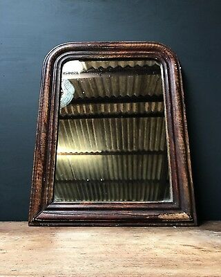 19th Century Antique French Foxed Mirror