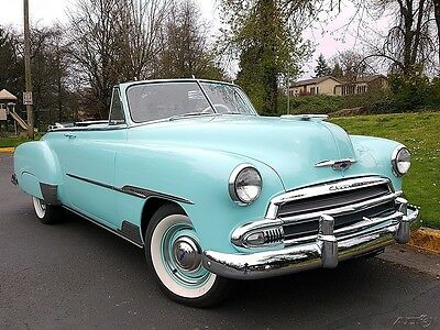 1951 Chevrolet Other 2 door Deluxe Convertible 1951 Chevrolet 2 door Deluxe Convertible 235 6 cyl 3 Speed Manual