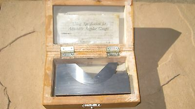 Adjustable Angle V Block Machinist Tool Wilson Wolpert??