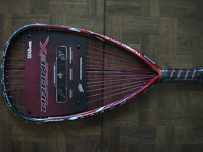 Wilson Drone X  Racquetball Racquet & Priority Mail - New 3 5/8 Grip