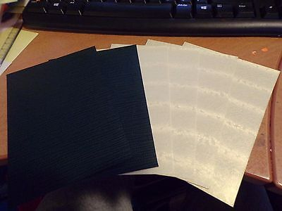 6 Sheets Beautiful Craft Paper / 14,5X10,5 Cm New (A207)