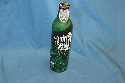 Mountain Dew Aluminum Bottle Collectible Do The Dew 16oz  2008 (Full)