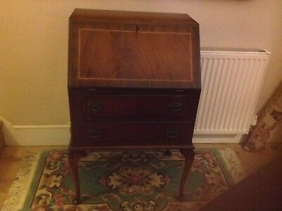 vintage small,bureau,desk,drawer, writing,home,office, As Brand New