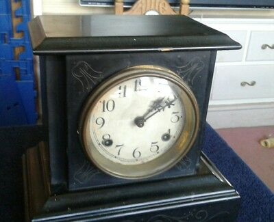 antique Waterberry mantle clock