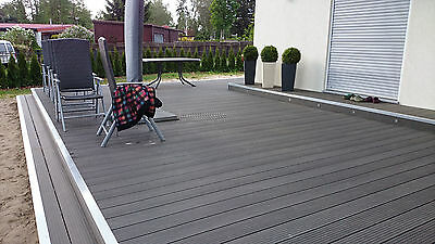 wpc terrassendielen wpc dielen 24x145 komplettbausatz wpc dielen holz terrasse eur 1 00. Black Bedroom Furniture Sets. Home Design Ideas