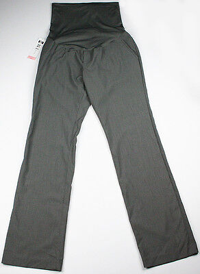 New Women's Maternity Grey Pants Liz Lange NWT Sz Size XS S M L XL XXL Work