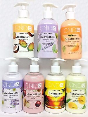 CND - Hand & Body Scentsations Skin Lotion - 245mL/8.3oz - Choose Any Scent!