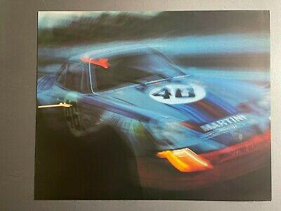 1974 Porsche 911 Coupe Showroom Advertising Sales Poster RARE!! Awesome L@@K