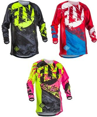 Fly Racing 2018 Outlaw MX/ATV/BMX/MTB Jersey Adult All Sizes & Colors