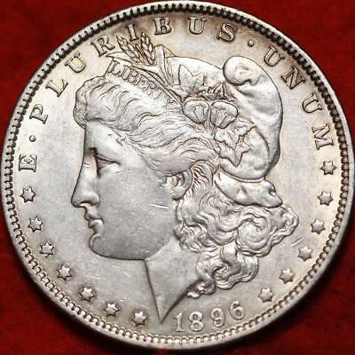 1896-O New Orleans Mint Silver Morgan Dollar Free Shipping