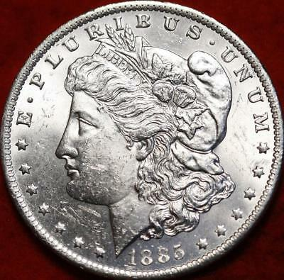 Uncirculated 1885-O New Orleans Mint  Morgan Dollar Free Shipping