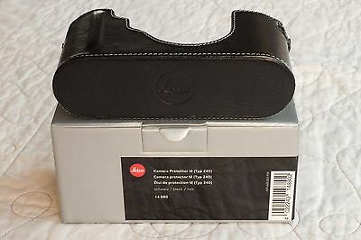 Leica Camera Protector Half Case for M240/M-P, black
