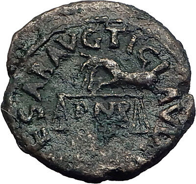 CLAUDIUS 42AD Rome QUADRANS Hand with Scales Authentic Ancient Roman Coin i63292