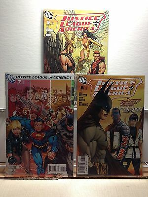 PRIMO:  JUSTICE LEAGUE of AMERICA #7 8 9 Michael Turner covers JLA DC lot b14