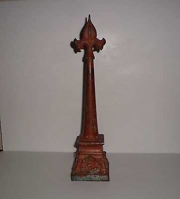 Antique Victorian Architectural Fence Post Topper Finial