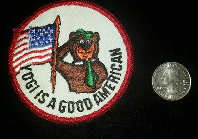 Vintage Yogi Is A Good American Patch New 3 In