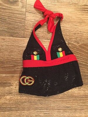 Infant Girl Coogi Bathing Suit Top 12M