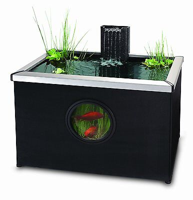 Blagdon Affinity Rectangle Living Feature Pool – Black