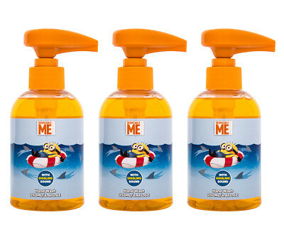 3 x Despicable Me Giggling Hand Wash 250mL