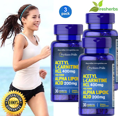 ACETYL L-CARNITINE+ ALPHA LIPOIC ACID 600mg MULTIPLE SCLEROSIS SUPPLEMENT 90ct